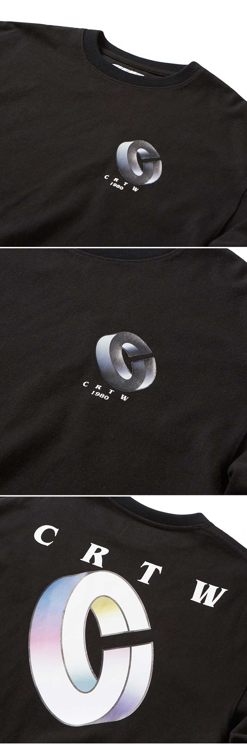 크리틱(CRITIC) CRTW 1980 LONG SLEEVE T-SHIRT(BLACK)_CTOGPRL10UC6