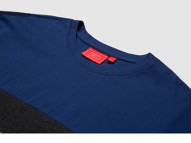크리틱(CRITIC) FM COLOR BLOCK TEE (BLUE)_CTOEURS09UB2
