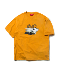 CRTC TECH CAR TEE (YELLOW)_CTOEURS07UY2