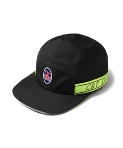 CRT SPORTS TAPED CAMP CAP(BLACK)_CTOEAHW04UC6