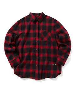 TGG CROSS CHECK SHIRT(RED)_CTOGPLS01UR0