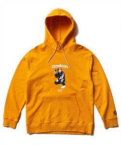 [3/27 예약배송]CRITIC X REEBOK CHICKEN KILLER HOODIE(YELLOW)_CSOGPHD01UY2