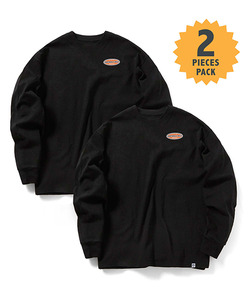 STANDARD MFG LONG SLEEVE T-SHIRT(BLACK)_CMOGPRL31UBK