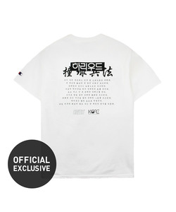 CRITIC X KORE HOLLYWOOD T-SHIRT(WHITE)_CSOGURS22UC2