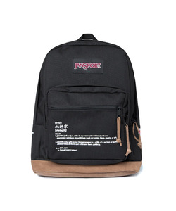 JANSPORT X CRITIC BACKPACK(BLACK)_CSOGUBG01UC6