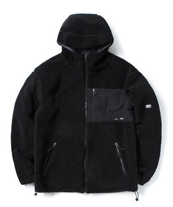 REVERSIBLE FLEECE JACKET(BLACK)_CTOGIJK07UC6