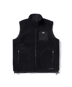 FLEECE VEST(BLACK)_CTOGIVT01UC6
