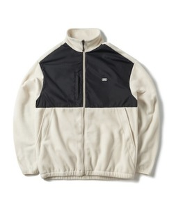 FLEECE ZIP-UP JACKET(BEIGE)_CTONPJK02UE3