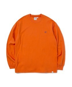 CRT LOGO LONG SLEEVE T-SHIRT(ORANGE)_CRONPRL01UO0