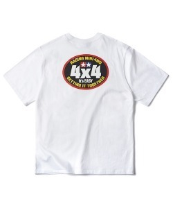 TAMIYA ORIGINAL PRODUCT MINI 4WD LOGO T-SHIRT(WHITE)_CSONURS03UC2
