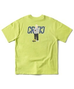 TAMIYA X CRITIC RC CHICKEN KILLER T-SHIRT(NEON GREEN)_CSONURS02UNG