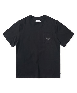 LOGO POCKET T-SHIRT(BLACK)_CTONURS19UC6