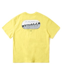 METAL LOGO T-SHIRT(LEMON YELLOW)_CTONURS13UY1