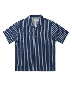 PIN STRIPE SHIRT(NAVY)_CTONUSS03UN0