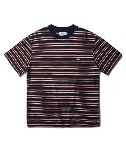 STRIPE T-SHIRT(ORANGE)_CTONURS24UO0