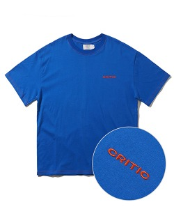 STITCH LOGO T-SHIRT(ROYAL BLUE)_CTONURS25UB3