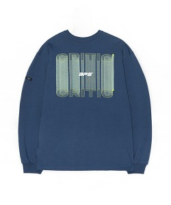 3D GRAPHIC LOGO LONG SLEEVE(NAVY)_CSONARL02UN0
