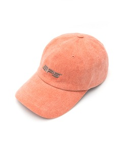 VINTAGE WASHED LOGO BALL CAP(ORANGE)_CSONAHW01UO0