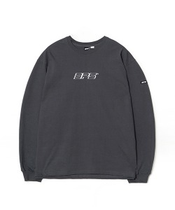 3D GRAPHIC LOGO LONG SLEEVE(CHARCOAL)_CSONARL02UC1
