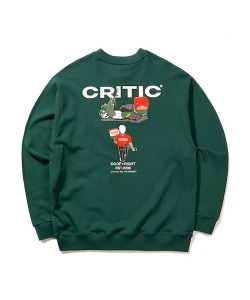 DELIVERY CHICKEN KILLER SWEATSHIRT(FOREST GREEN)_CTONACR01UG1