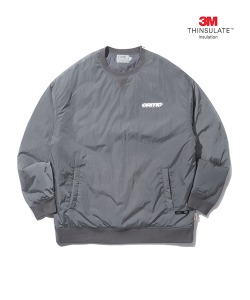 PADDED SWEATSHIRT(GRAY)_CTONICR02UC0