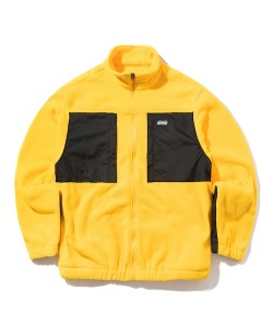 FLEECE JACKET(YELLOW)_CTONIJK01UY0