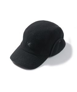 CRT FLEECE CAMP CAP(BLACK)_CRONIHW02UC6