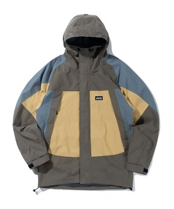 3 TONE HOODED PARKA(YELLOW)_CTTZPJK02UY0