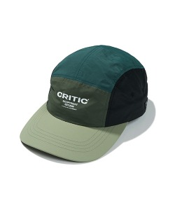 3-TONE CAMP CAP(FOREST GREEN)_CTTZPHW01UG1