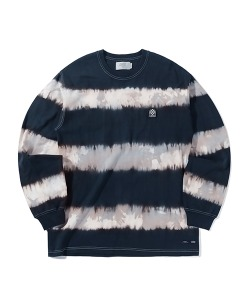 WAPPEN STRIPE LONG SLEEVE(BLACK)_CTTZPRL01UC6