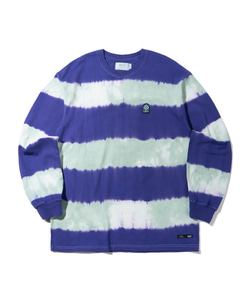 WAPPEN STRIPE LONG SLEEVE(VIOLET)_CTTZPRL01UV1