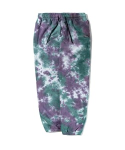 TIE DYE SWEATPANTS(GREEN)_CTTZPPT07UG0