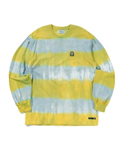 WAPPEN STRIPE LONG SLEEVE(YELLOW)_CTTZPRL01UY0