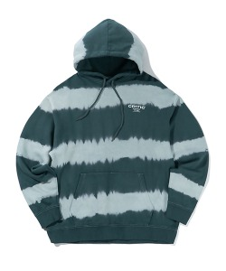 WASHING STRIPE HOODIE(FOREST GREEN)_CTTZPHD10UG1
