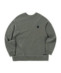 CUTTING SWEATSHIRTS(KHAKI)_CTTZPCR07UK0