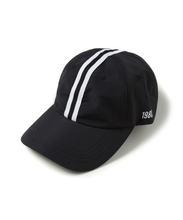 RACING 6P BALL CAP (BLACK)_CTOEUHW01UC6