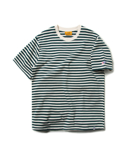 STRIPE BORDER TEE (GREEN)_CMOEURS44UG0