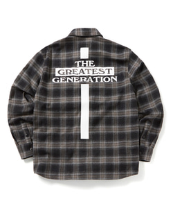 TGG CROSS CHECK SHIRT(BLACK)_CTOGPLS01UC6