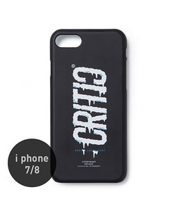 MELTED LOGO MOBILE CASE(BLACK)_CTOGAHC04UC6