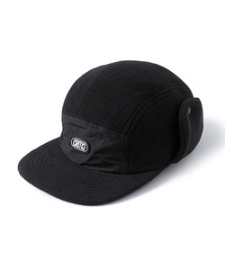 EAR FLAP CAMP CAP(BLACK)_CTOGIHW09UC6