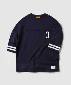 C LOGO FOOTBALL TEE (NAVY)_CMOEURM31MN0