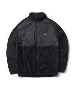 FLEECE ZIP-UP JACKET(BLACK)_CTONPJK02UC6