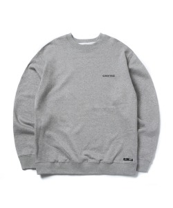 BACKSIDE LOGO SWEATSHIRT(M/GRAY)_CTONPCR02UC4