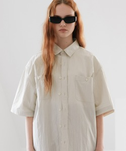 CRT WORK SHIRT(CREAM)_CRONUSS02UY5