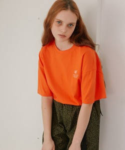CRT C.R.T LOGO T-SHIRT(ORANGE)_CRONURS05UO0