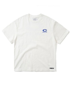 BIG C LOGO T-SHIRT(WHITE)_CTONURS15UC2