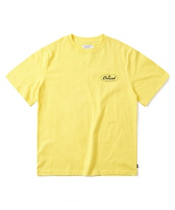 DISTRIBUTOR LOGO T-SHIRT(LEMON YELLOW)_CTONURS12UY1