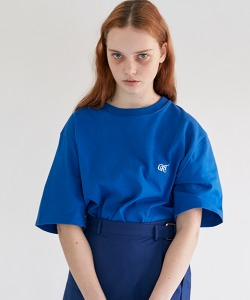 CRT LOGO T-SHIRT(ROYAL BLUE)_CRONURS01UB3