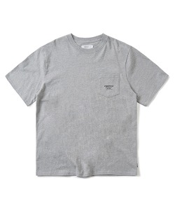 LOGO POCKET T-SHIRT(M/GRAY)_CTONURS19UC4