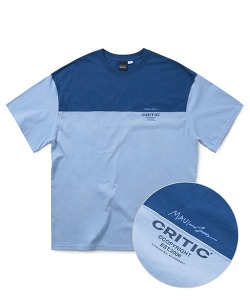 MAUI X CRITIC HIDDEN T-SHIRT(DEEP BLUE)_CSONURS10UB6